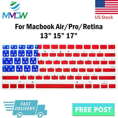 American Flag Silicone Keyboard Cover Skin For Macbook Pro Air Retina 13 15 (American Flag Keyboard)