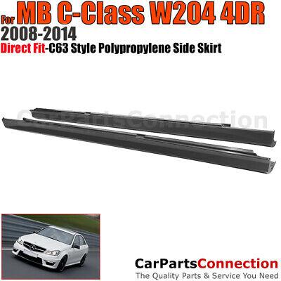 Side Skirt AMG C63 Style Mercedes Benz C-Class W204 Sedan 2008-2014 Rocker Mold for sale  Rowland Heights