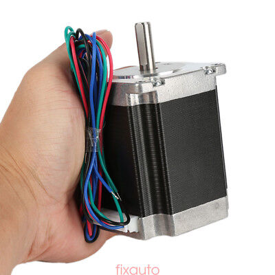 Schrittmotor Stepper Motor Nema 23 1.84-wires 76mm 3a 270oz-in1.8nm Bipolar Ny6
