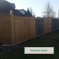 Fence Leaning? Give us a call we can replace any post any size