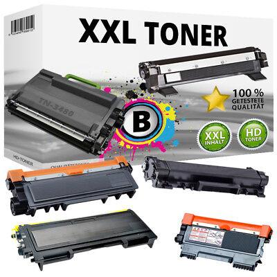 2000 Schwarz Toner (XXL Toner für Brother TN-1050 TN-2000 TN-2010 TN-2110 TN-2320 TN-2420 TN-3480)