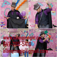 Kids magician for your birthday.See packages and prices here