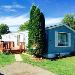 MINI-HOME on OWNED LAND - NOT LOT FEES - MONCTON -HOUSE FOR SALE