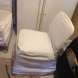 5 chairs with cover for sale. London Ontario image 1