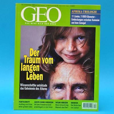 GEO Magazin 12/1999 Afrika Zootiere Ärzte ohne Grenzen Sibirien Fortschritt