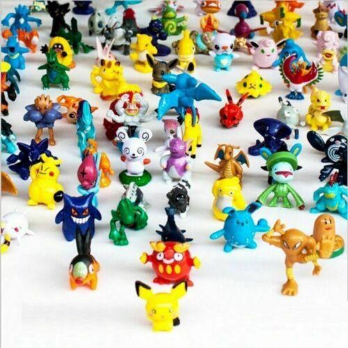 1 complete set pokemon action figures toys