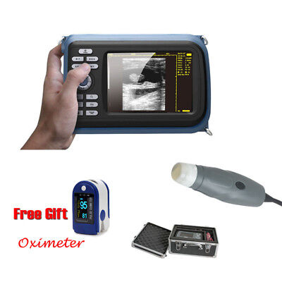 Vet Handheld Veterinary Pet Ultrasound Scanner System Rectal Probe Free Mask