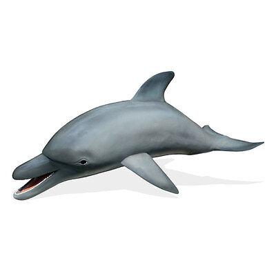 DELFIN großer Tümmler DOLPHIN 350 cm KINO FISCH Deko Tier Figur Gastro WERBUNG