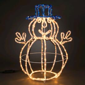 3D Snowman Light