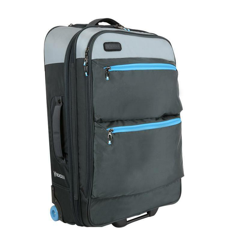 "BONDKA BK153-12003-GRY8 28"" Soft Case Travel Luggage in Gray"