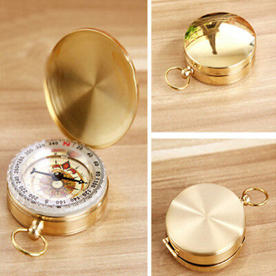 Antiques Hard-Working Boy Scouts Of America Brass Compass Antique Replica Hiking Gifts Maritime