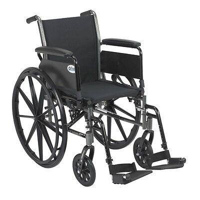 Cruiser III Light Weight Wheelchair w/Various Flip Back Arm