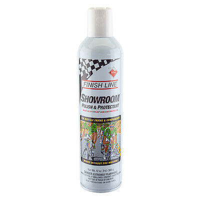Finish Line Bicycle Bike Showroom Polish Protectant Spray 12 Oz New