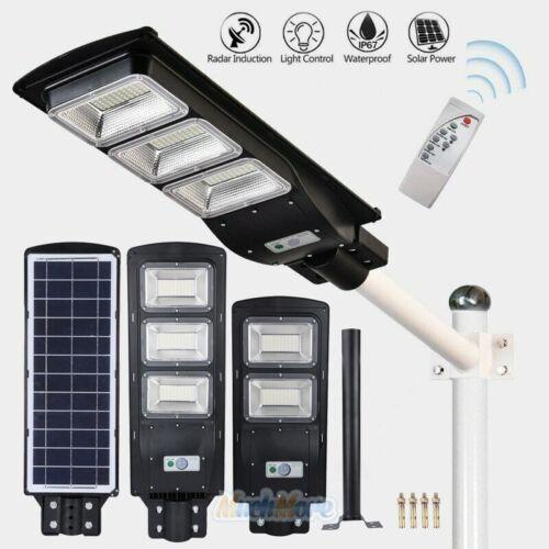 9990000LM Commercial LED Solar Street Light Motion Sensor Sp