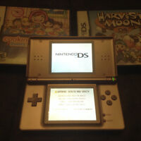 Nintendo DS two games 40.00 no adapter is charged though