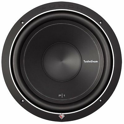 Rockford Fosgate Punch P1S2-15 15-Inch 500W 2-Ohm Power Car Audio Subwoofer