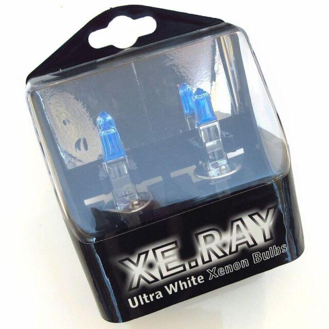2x H1 100W, XE RAY, ULTRA WHITE XENON Lampen Leuchtmittel, superweiss, ultrahell
