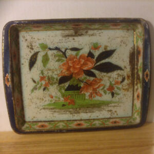 Daher Decorated Ware VINTAGE Tray  Made In England Metalware