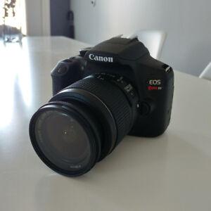Vends kit photo Canon EOS Rebel T6 + plan de protection total