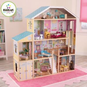 Doll Barbie House - kidkraft mansion