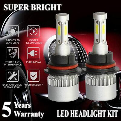 9007 HB5 LED Headlight High/Low Beam 2000W 300000LM 6000K White Bulbs Lamp Light