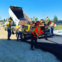 We do Paving! Call us today! Best Rates and Free Estimates!
