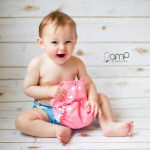 AMP Complete Package - All the Diapers You'll Ever Need!