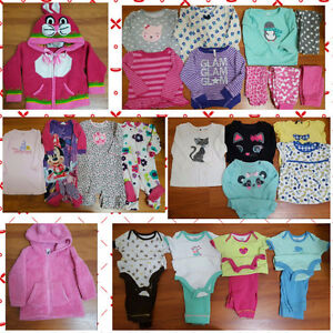 Toddler Girl clothes from 18 to 24 months.  28 items