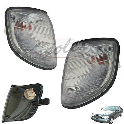 Blinker Blinkleuchte rechts+links Set Satz Paar Mercedes S-Klasse W140 95-98 NEU