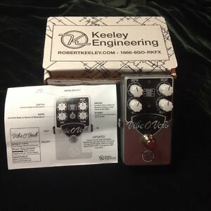 Keeley Vibe O Verb Lost Reverb pedal