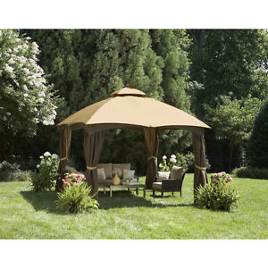 12 FT X 10 FT GAZEBO w/INSECT SCREEN - NEW IN BOX! (PAID $1,200) London Ontario image 1