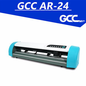 "GCC AR 24"" VINYL CUTTER T SHIRT HEAT PRESS SIGNS HEAT TRANSFER"