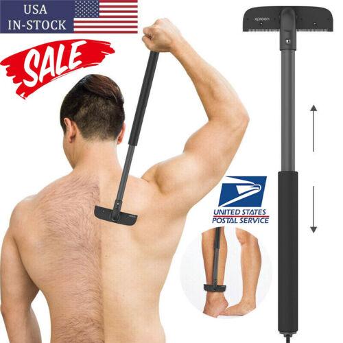 Men Back Hair Removal Body Shaver Razor Shaving Trimmer Tool