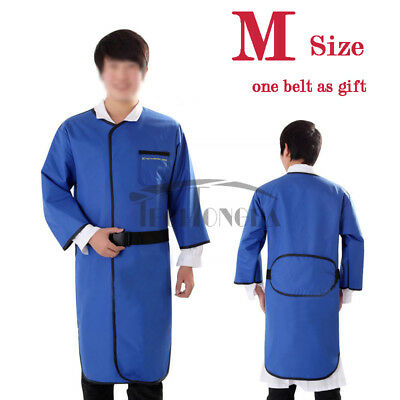 M Size 0.35mmpb X-ray Protection Apron Long Sleeve No-lead Vest Belt