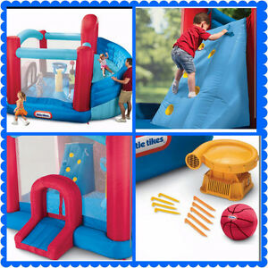 Little Tykes Super Spiral Bouncy Castle