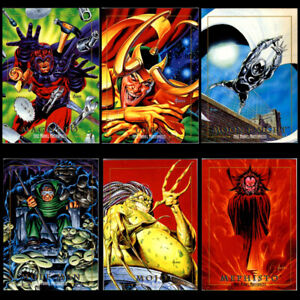 Marvel Masterpieces superhero trading cards 1992