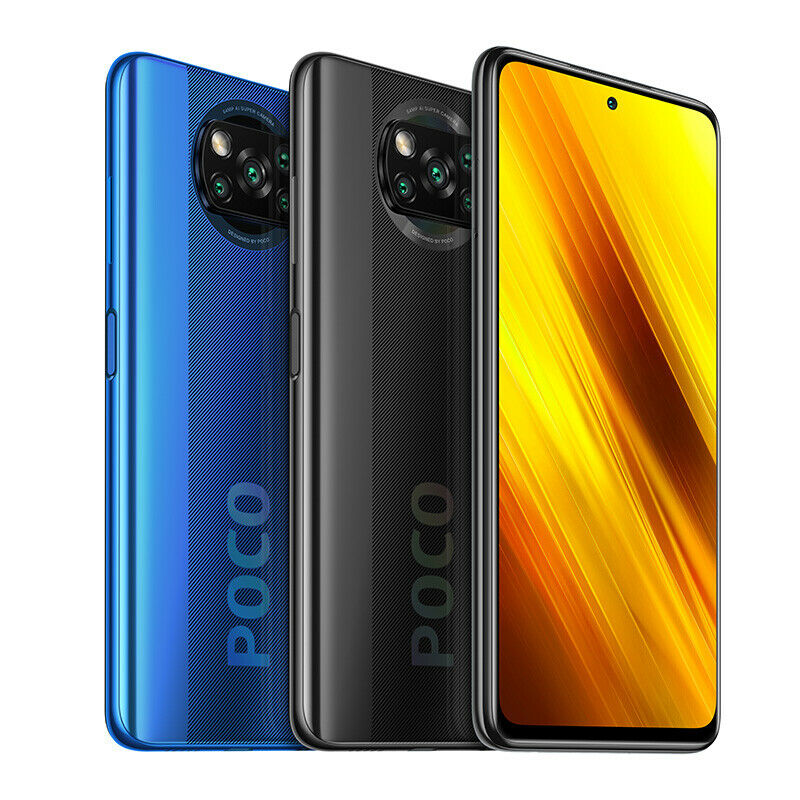 Xiaomi POCO X3 6GB 64GB Smartphone Dual-Speaker 5160mAh 33W NFC Global Version