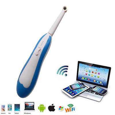 Wireless Dental Wifi Intraoral Oral Camera Endoscopy 6 Led Light Waterproof Fda