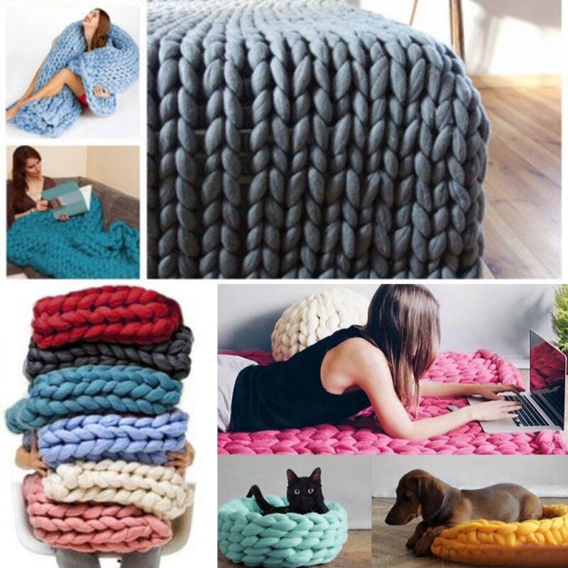 arm knitting super chunky wolle garn 100 wolle sperrige merino roving weben ebay. Black Bedroom Furniture Sets. Home Design Ideas