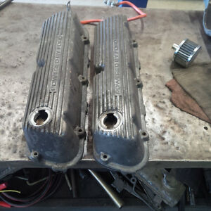 "1983-1985 ""powered by ford"" mustang valve covers"