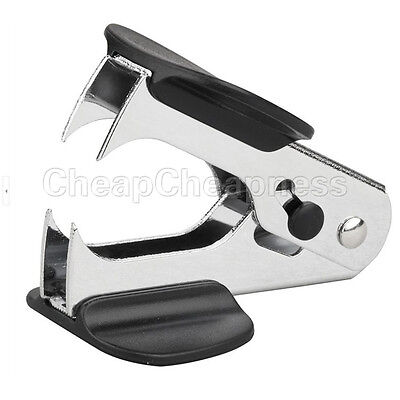 New 1 Pcs Black Mini Staple Remover Jaw Type Staplers Office Stationery