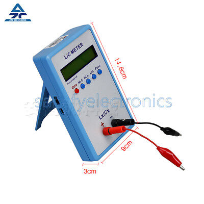 High Precision Lc Inductance Inductor Capacitance Multimeter Meter Lc200a Tool