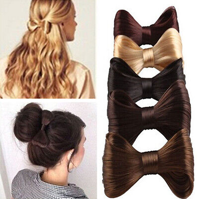 Fashion Big Bow Ties Wig Hairpin Hair Bow With Clips Girl's Hair Accessories