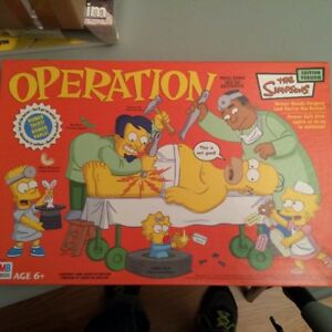 Simpsons Operation Game