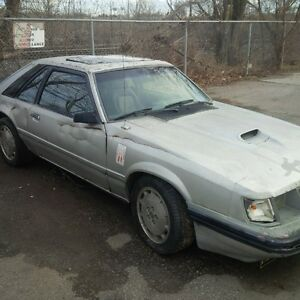 parting out 1985 mustang svo