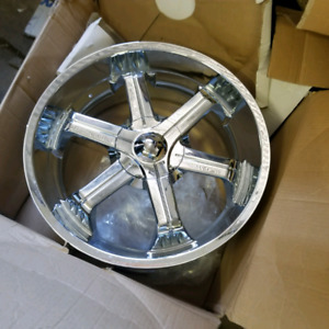 Brand new in the box 22 Dodge Ram rims. Never mounted