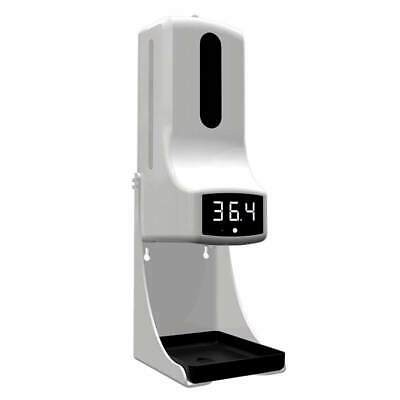 K9 Pro Intelligent Soap Dispenser With Thermometer 2 In 1 Wall Mount No-contact