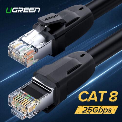 BYBON CAT6 Solid Copper UTP Ethernet Patch Cable RJ45 Blue UL 1,2,3,5,8,10ft