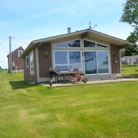 Winterized waterfront cottage for short or long term rent