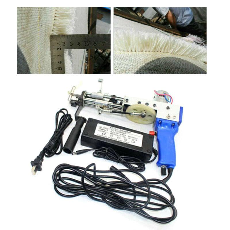 Electric Cut Pile Carpet Tufting Gun Weaving Flocking Machine 10000r/min US